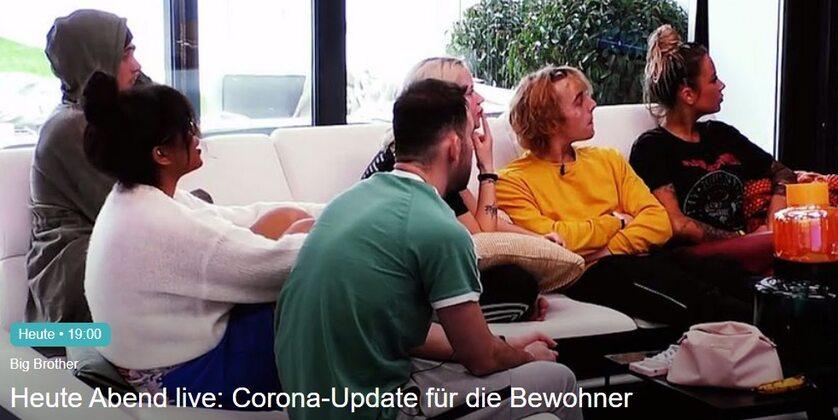 """Zrzut ekranu ze strony wydawcy niemieckiego """"Big Brothera"""" sat1.de"""