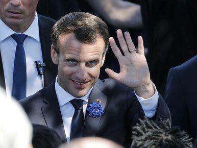 """Macron w ogniu krytyki za słowa o """"białych mężczyznach"""". Co powiedział..."""