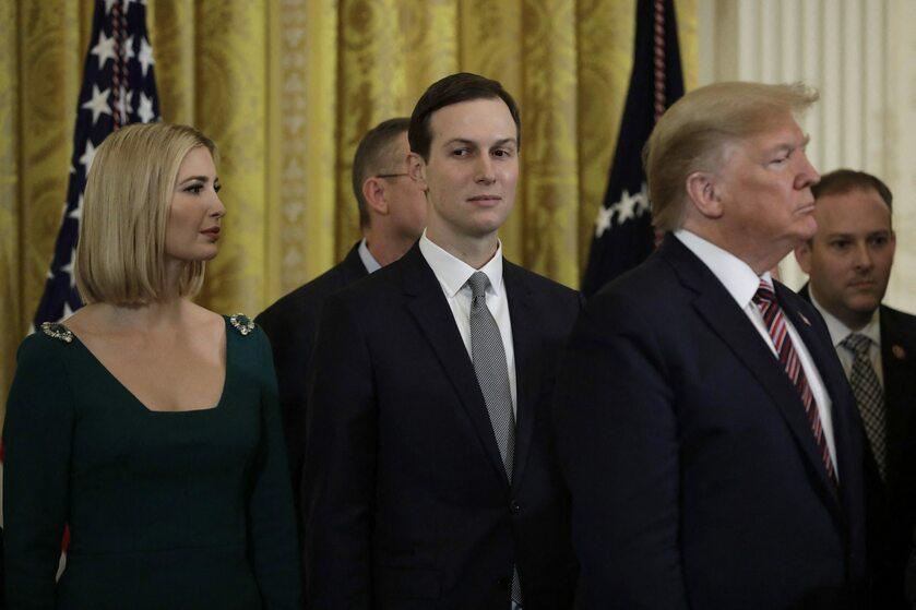 Ivanka Trump, Jard Kushner i Donald Trump