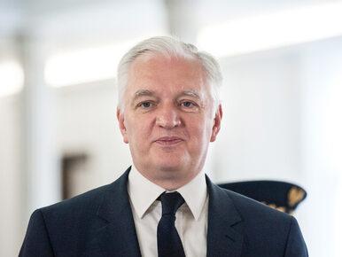 Gowin: Tusk to zwierzę polityczne. Polityczny fighter