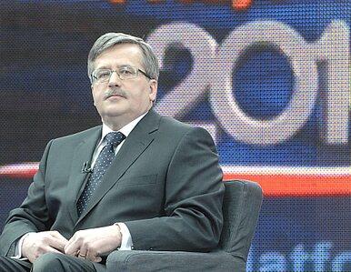 Komorowski skierował do Trybunału sztandarową ustawę rządu Tuska