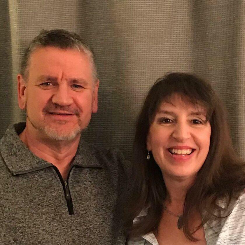 Bryce Cleary z żoną