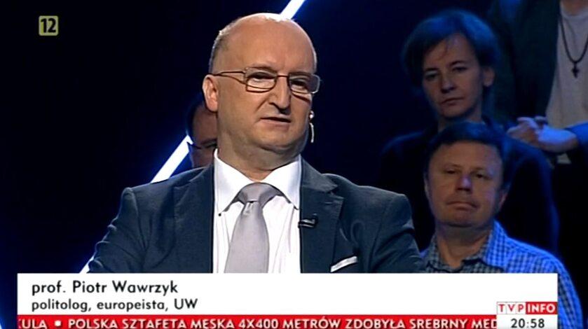 Piotr Wawrzyk na antenie TVP