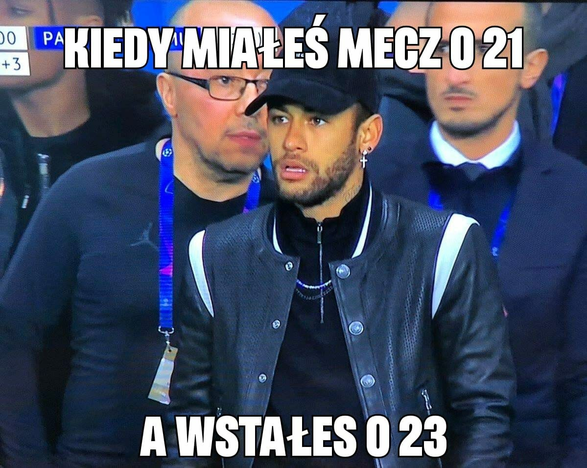 Mem po meczu PSG z Manchesterem United