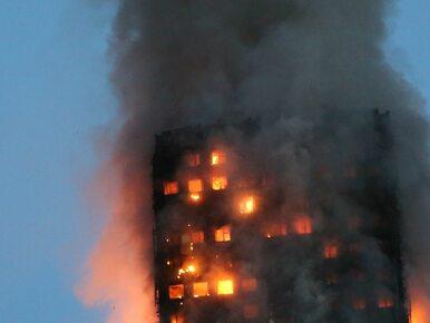 Pożar w Londynie. Służby sprawdzają, czy wśród poszkodowanych są Polacy