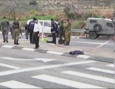 Palestyńczyk zaatakował kwasem grupę Żydów. Został postrzelony