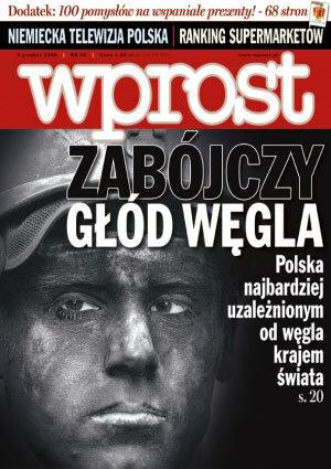 Okładka tygodnika Wprost nr 48/2006 (1250)