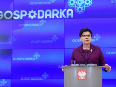 Beata Szydło: Dane pokazują, że program Gospodarka+ jest faktem. Nie...