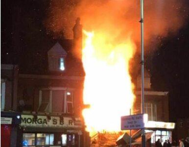 """""""Potężna eksplozja"""" w Leicester. Świadkowie: Do wybuchu doszło w polskim..."""