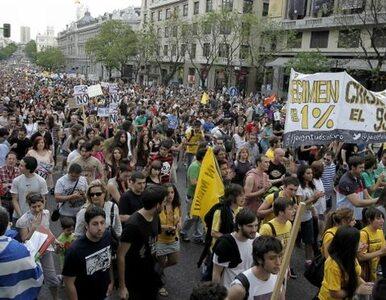 """Hiszpania: """"Oburzeni"""" demonstrują w 80 miastach"""