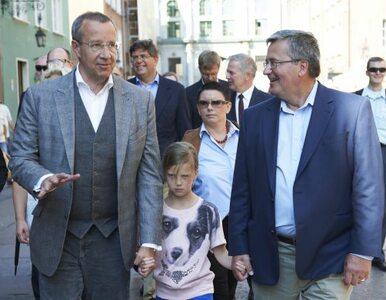 Komorowski zaprosił prezydenta Estonii do Polski, by zwiedził Gdańsk