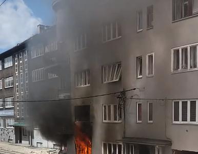 Wybuch w kamienicy w Bytomiu, zginęły trzy osoby. Jest nagranie