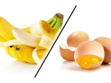 Banan czy jajko? Który produkt ma więcej kalorii?