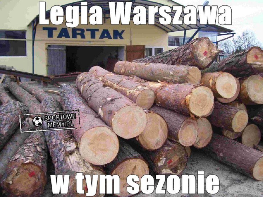 Memy po porażce Legii z Wisłą Płock