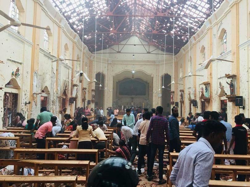 Sri Lanka. Eksplozja w kościele