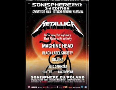 Metallica gra dziś Czarny Album na Lotnisku Bemowo