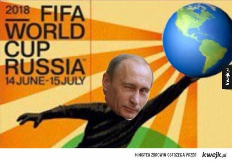 Mem na rozpoczęcie mundialu 2018