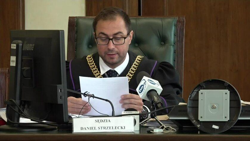 sędzia Daniel Strzelecki