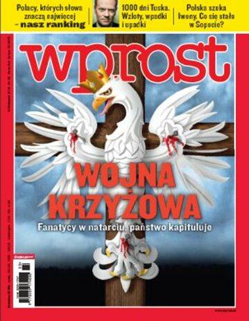 Okładka tygodnika Wprost nr 33/2010 (1436)