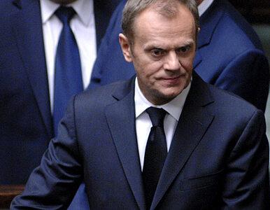 Tusk: Byłoby ironią gdyby pieniądze dla Ukrainy płynęły do Rosji