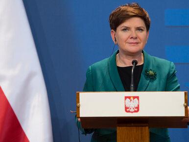 Premier Szydło: Wierzę, że projekty przygotowane przez prezydenta...