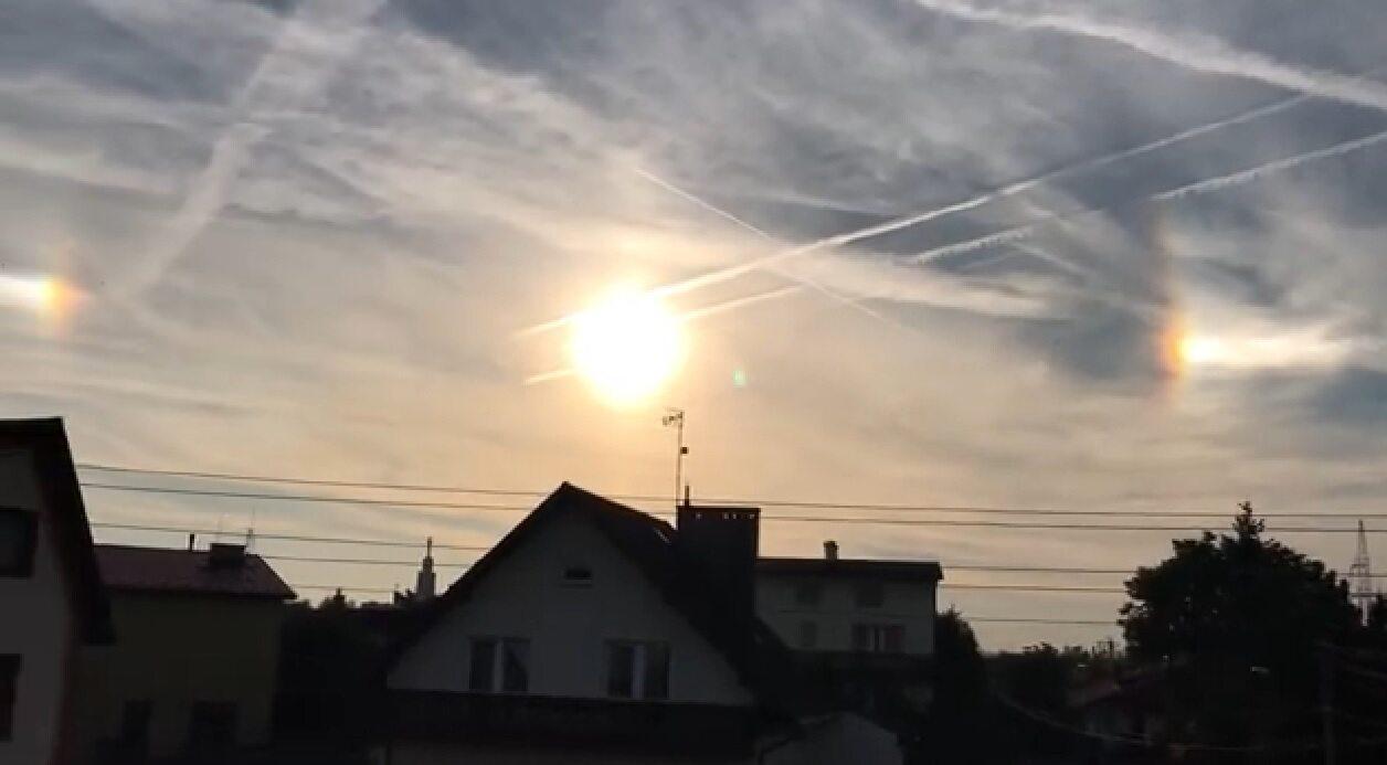 """""""Trzy Słońca"""" na niebie w Małopolsce"""