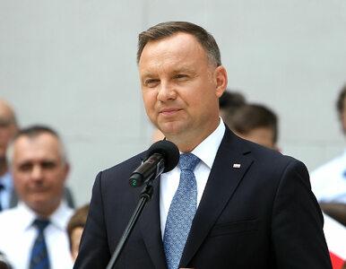 """Andrzej Duda zareagował nerwowo na pytania dziennikarza. """"Proszę nie..."""
