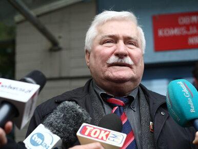 Niestosowny pasek informacyjny w TVP Info. Rzecznik Wałęsy zapowiada...