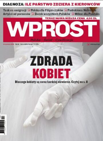 Okładka tygodnika WPROST: 24/2009