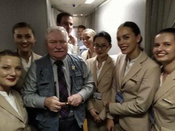 Lech Wałęsa poleciał do Dubaju. Jest gościem honorowym na...
