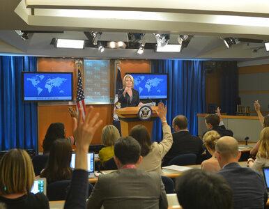 Departament Stanu USA apeluje do polskiego rządu, by nie przyjmował...