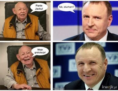 Wielki powrót Jacka Kurskiego do zarządu TVP. Oto najlepsze memy