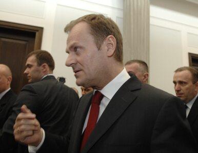 Tusk: koalicje z PiS? Czemu nie