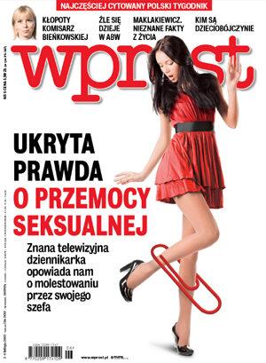 Okładka tygodnika Wprost nr 6/2015 (1665)