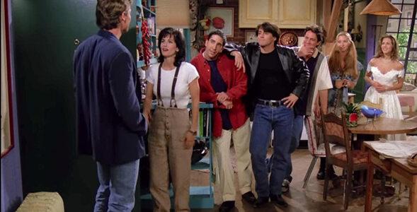 """Quiz z pierwszego odcinka serialu """"Przyjaciele"""". Ile pamiętasz?"""