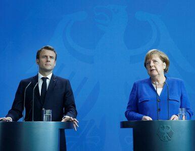 Merkel i Macron zapowiedzieli nową inicjatywę. Ma dotyczyć kilku dziedzin