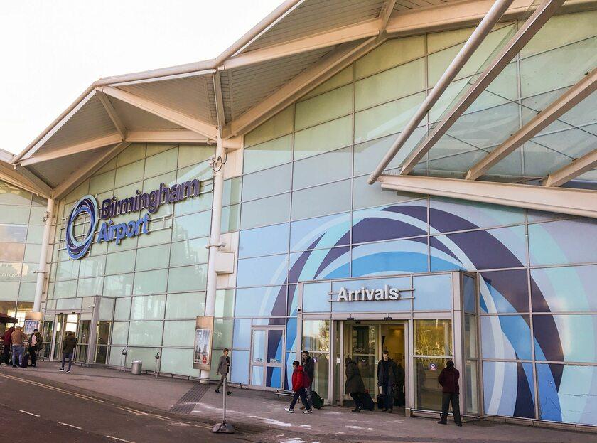 Lotnisko w Birmingham
