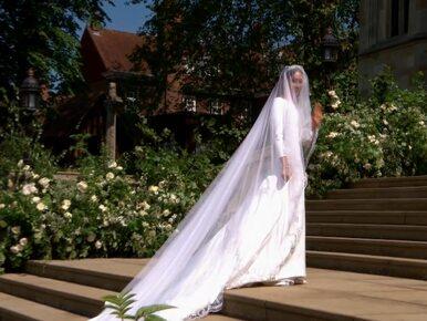 Księżna Meghan zdradziła niezwykły szczegół dotyczący swojej sukni ślubnej