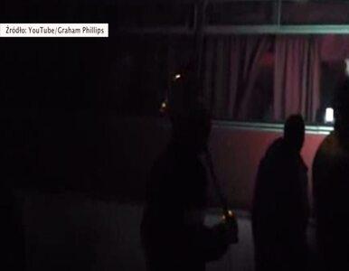 Prorosyjscy separatyści w Doniecku zatrzymują autobus milicji