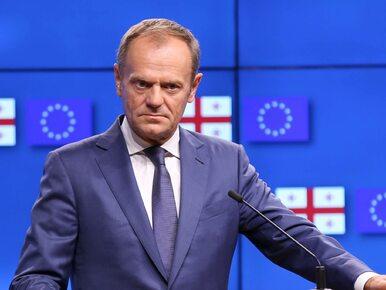 """Donald Tusk zrugał szefa brytyjskiego MSZ. """"Sowiecki przytyk niemądry i..."""