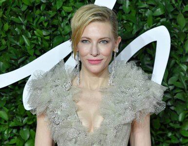 Cate Blanchett miała wypadek z piłą łańcuchową. Doznała urazu głowy