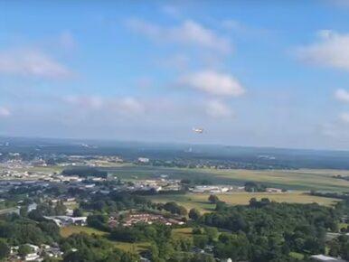 Wypadł z samolotu i nagrał filmik. Zobacz, jak wygląda upadek z 300 metrów