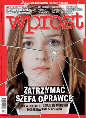 Okładka tygodnika Wprost nr 7/2015 (1666)