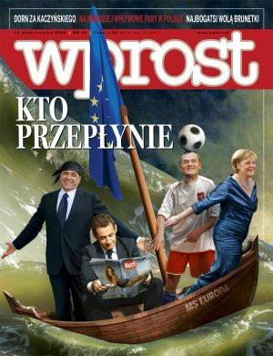 Okładka tygodnika Wprost nr 45/2006 (1247)