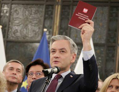 Biedroń jako prezydent chciałby wycofać ustawę kagańcową. Ma już nawet...