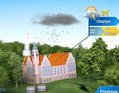 Mazury: jutro uwaga na burze!