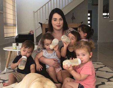 """Matka pięcioraczków szczerze o depresji. """"Tracę kontrolę nad..."""