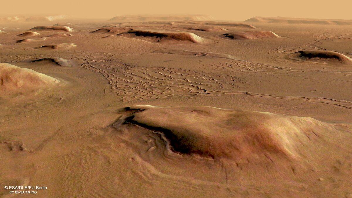 Zdjęcie powierzchni Marsa