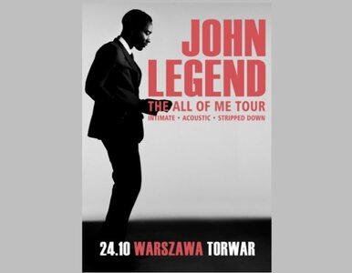 """John Legend zaśpiewa w Warszawie złoty przebój """"All of Me"""""""