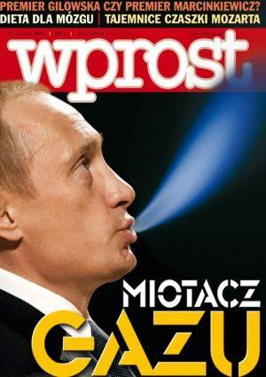 Okładka tygodnika Wprost nr 2/2006 (1205)